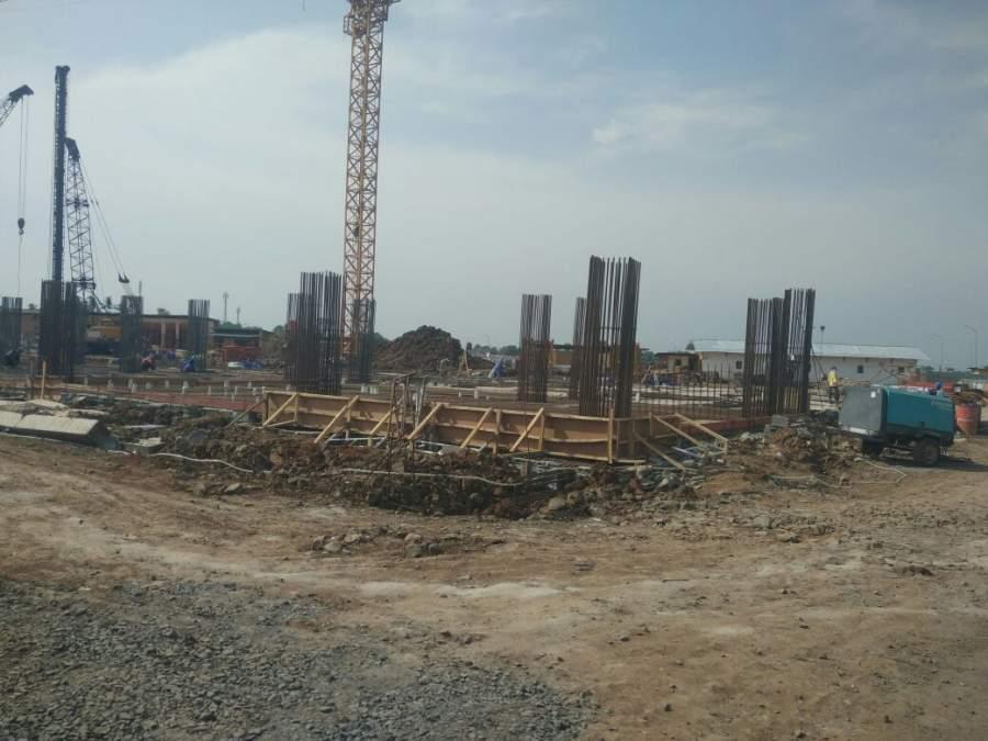 Pembangunan sekolah yayasan non muslim di Sindang Jaya, Kabupaten Tangerang.
