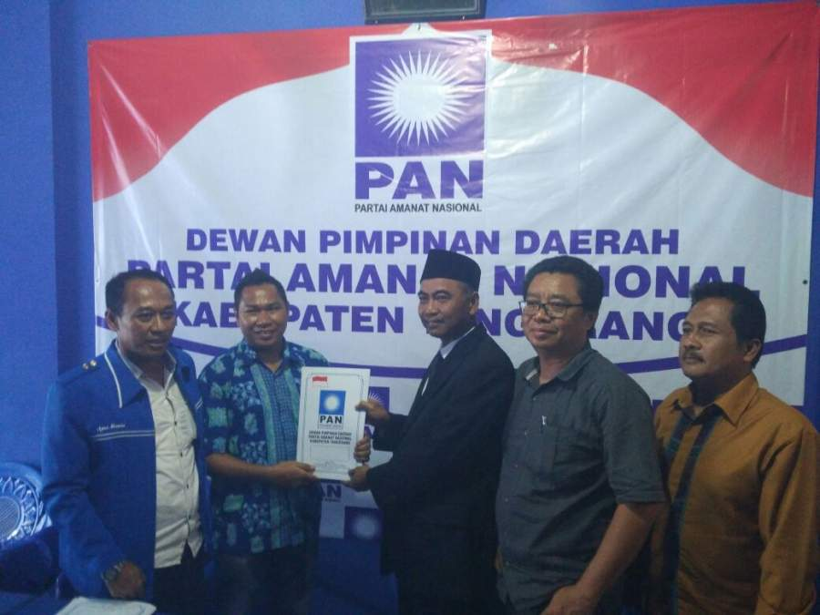 Sekda Daftar Calon Wakil Bupati Tangerang