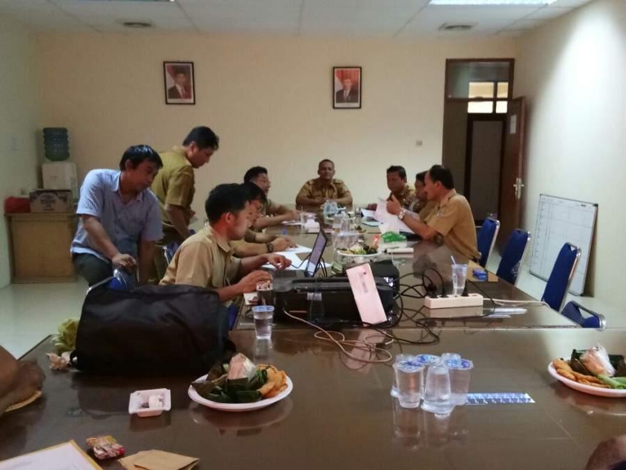 Dinas Binamarga Gelar Rapat Bahas Soal Proyek Jalan di Sindang Jaya