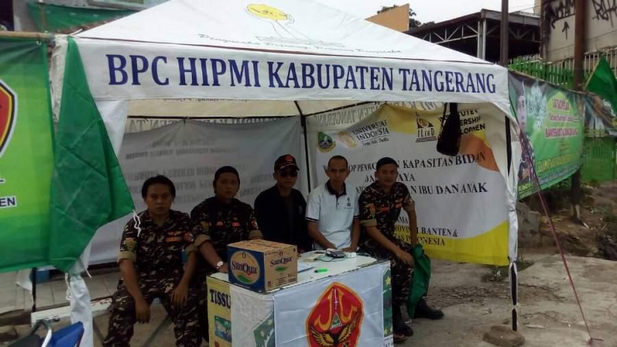 Banser Banten Dirikan Posko Mudik