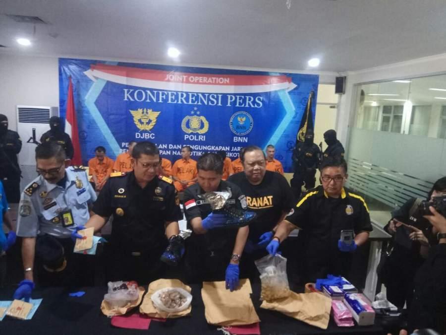 80 Kapsul Sabu Disembunyikan Dalam Perut