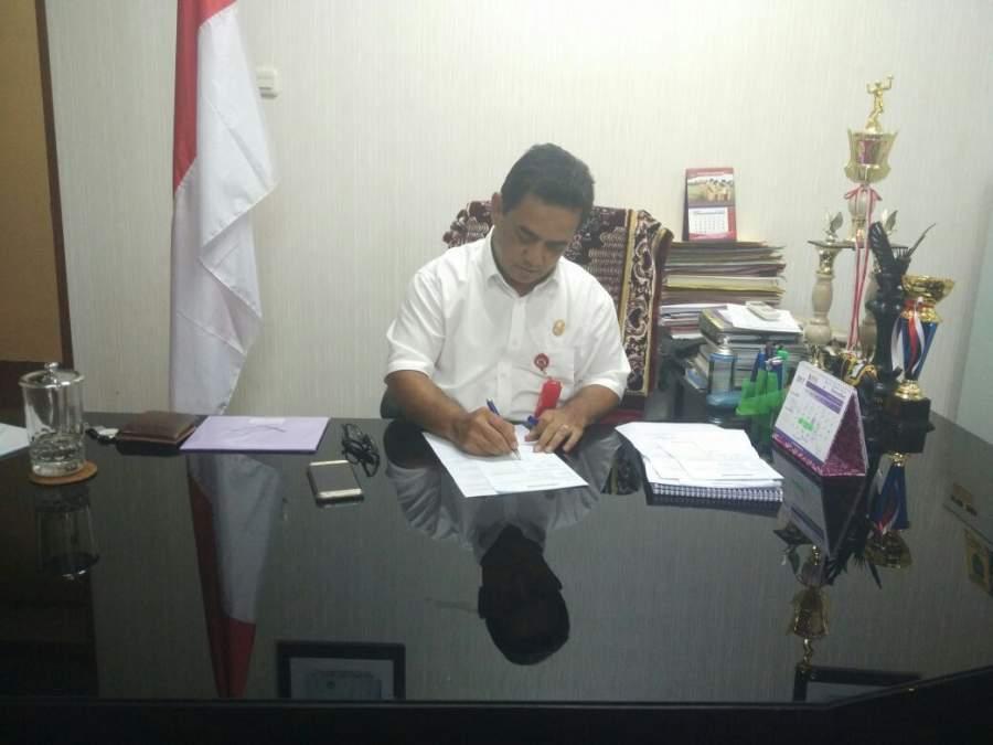 Kepala DPMPD Kabupaten Tangerang Banteng Indarto
