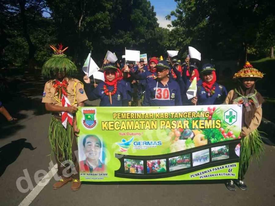 Senam Bersama, Zaki Galakan Gerakan Masyarakat Sehat